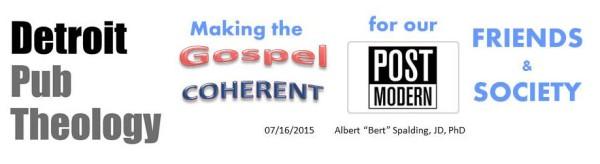Detroit Pub Theology 7-16-2015