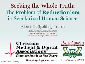 Reductionism MedDentalAssns